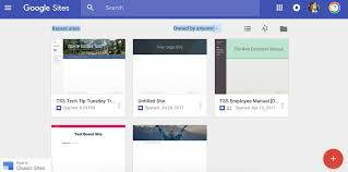 Google Forms Help Desk The New Google Sites Teton Science Schools Helpdesk