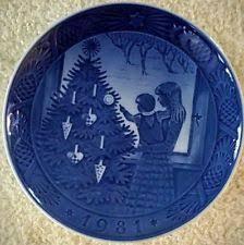 royal copenhagen collector plates ebay