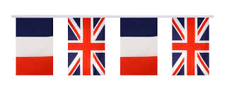 International Bunting Flags France Great Britain Friendship Bunting Flags 5 9 X 8 65 Inch