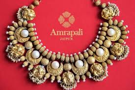 necklace online store images Buy silver gold plated engraved necklace with pearls online in usa JPG