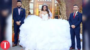 disgusting wedding dresses 10 ugliest wedding dresses
