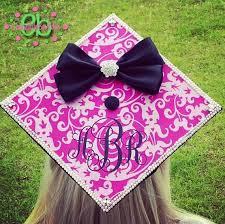 graduation cap stickers monogram vinyl decal for graduation cap personalized