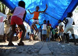 The Shelter by File Us Navy 100222 N 5961c 009 Haitian Children Enjoy Jumping