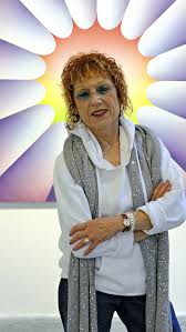 judy chicago proves she u0027s about more than plates at