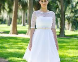 white wedding dress etsy