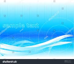 wallpaper template blue hitech wallpaper template design scientific stock vector