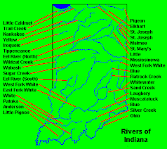 Indiana rivers images Indiana river system lessons tes teach gif
