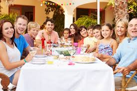 do you live in are you organizing a large family reunion