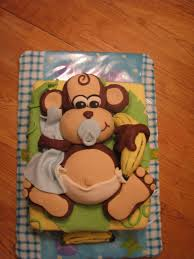 monkey baby shower cake baby shower cake monkey theme baby showers