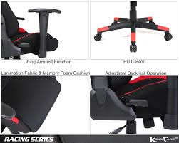 Chair Lifting Experiment Kingcore Ergonomic Gaming Chair Racing Style High Back Office