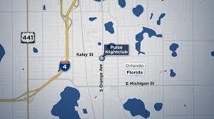 Map Of Orlando Chicago Lgbt Groups Plan Vigils In Wake Of Orlando Shooting Nbc