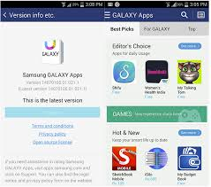 samsung apps store apk samsung apps gets updated to galaxy apps apk bro