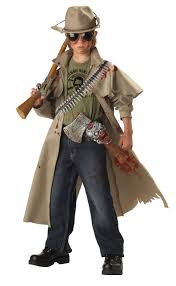 zombie hunter child costume buycostumes com