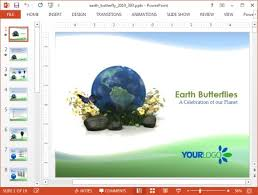 templates powerpoint earth animated green earth powerpoint template