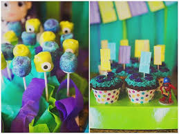 inc baby shower kara s party ideas monsters inc themed birthday party via kara s