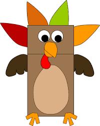 bag turkey puppet