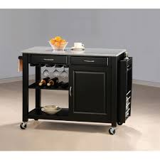 kitchen carts islands utility tables coaster furniture kitchen cart with granite top granite tops