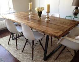 Rustic Dining Table And Chairs Rustic Dining Table Etsy