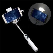 self stick led lights kebidu universal button self stick selfie bluetooth with led light