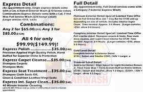How To Shampoo Car Interior At Home Car Wash Services Lighthouse Express Car Wash
