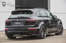 porsche suv blacked out lumma news lumma clr 558 gt r für cayenne