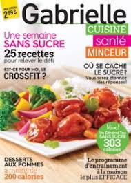 cuisine santé gabrielle cuisine santé minceur