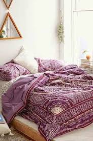 taj hotel boho bedroom purple draws love blanket throw
