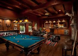 living room complete with pool table modern group projects