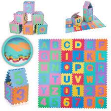 tappeti puzzle bambini baby vivo tappeto puzzle da gioco in soffice per bambini con