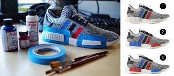 point of no return prepping paint job on nmd tri color option 2