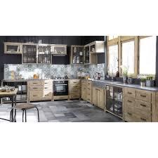 meuble haut vitré cuisine meuble haut vitré de cuisine ouverture droite en pin recyclé l60 cm