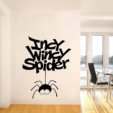 Nursery Rhyme Wall Decals 2017 Sale Incy Wincy Spider Vinyl Wall Sticker Decal
