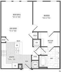 3 Bedroom Apartments Floor Plans by Home Design Likeable One Bedroom Apartments Floor Plans With
