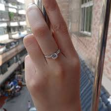 wedding ring test beautiful 0 8 carat moissanite lab grown diamond engagement