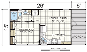 Park Model Home Floor Plans by Model 601 Athens Park Homes Champion Homes