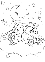 sleeping bear coloring sleeping bear coloring