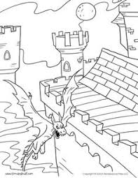 tree fort coloring coloring pages trees