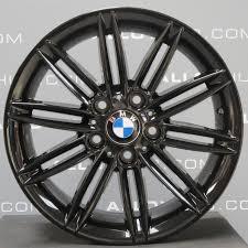 bmw black alloys bmw 1 series 207m sport 17 black alloy wheel alloy hub