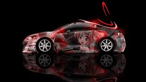 mitsubishi eclipse 2014 mitsubishi eclipse jdm side anime aerography car 2014 el tony