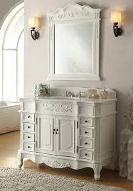 42 Bathroom Vanities by Antique White Morton Bathroom Vanity U0026 Mirror Hf 2815w Aw 42