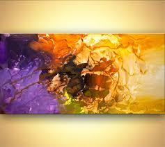 Painting Home Decor by Abstract Painting Original Colorful Abstract Painting Home Decor