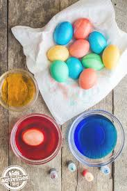 how to dye easter eggs kids activities blog