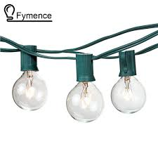 aliexpress buy 100ft globe string lights g50 100 clear globe