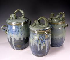 stoneware kitchen canisters these handles etsy listing at https etsy com listing