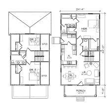 bungalow house plans garage home deco plans