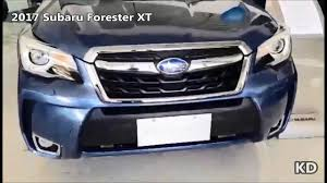 subaru forester 2017 quartz blue 2017 subaru forester xt youtube