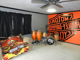 brilliant harley davidson bedroom painting ideas for the
