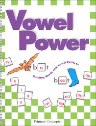 vowel power book 057201 details rainbow resource center inc