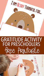 thanksgiving reading activity gratitude activity for preschoolers free printable inspired by