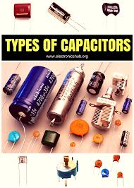 types of capacitors tech arduino and electronics projects